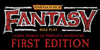 Warhammer Fantasy Roleplay 1st Edition